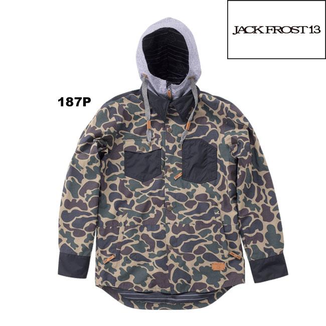 【JFJ98301C】JACK FROST13 BLOCK SHIRT ジャックフロストワンスリー スノーウェアボードウェアオンヨネ(ONYONE) ユニセックス ストリート おしゃれ男性用 かっこいい 05P30Nov13