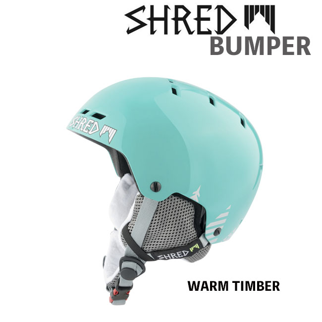 【送料無料】【BUMPER】 SHRED シュレッド ヘルメット バンパー スノーヘルメット 大人用 オールマウンテンヘルメットスノー スキー