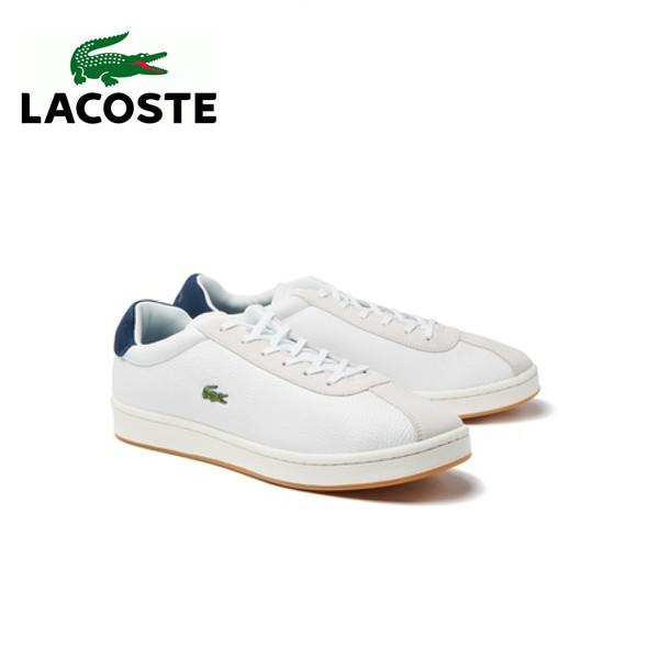 LACOSTE ラコステ MASTERS 119 3SMA0035 (WN1)オフホワイト/ネイビー メンズ