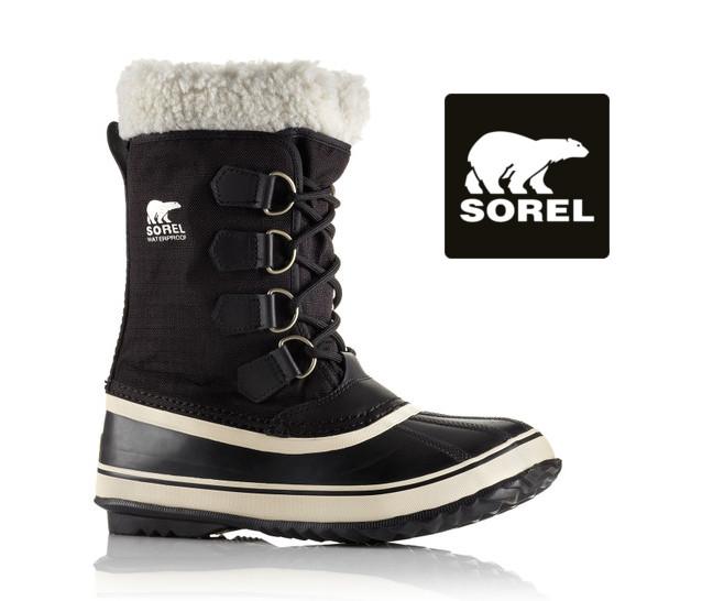 【送料無料・送料込(一部地域を除く)】 【SOREL】ソレル Winter Carnival ウインターカーニバル  NL1495 (011) black stone レディース