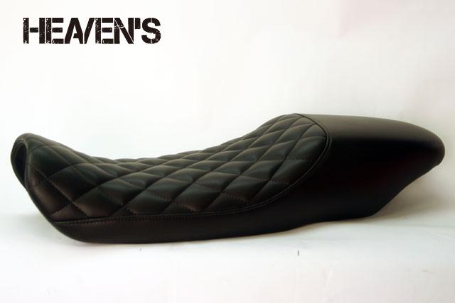 HEAVEN'S FTR223 トラッカーシート ダイヤ ブラック/ヘブンズ
