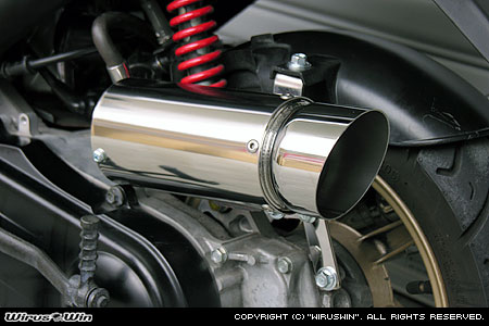 ディオZ4 ディオ・スマート サイレンサー型 エアクリーナーkit FI車用 スマート ポッパータイプ/ウイルズウィン Dio WirusWin