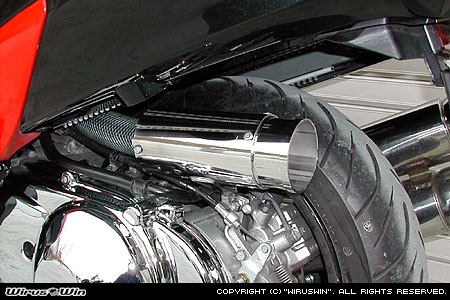 WirusWin スカイウェイブ(CJ43) サイレンサー型 エアクリーナーkit バズーカタイプ/ウイルズウィン