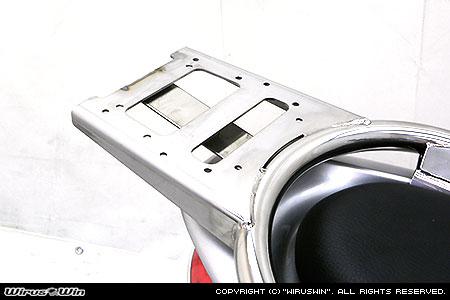 WirusWin キムコ RACING KING180Fi用 リアボックス用ベースブラケット付きタンデムバー/KYMCO レーシングキング ウイルズウィン