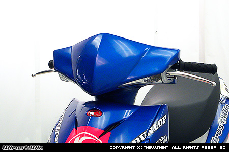 WirusWin キムコ RACING125Fi用 ヘッドマスク(一般公道使用可能) (塗装無し) /KYMCO レーシング ウイルズウィン