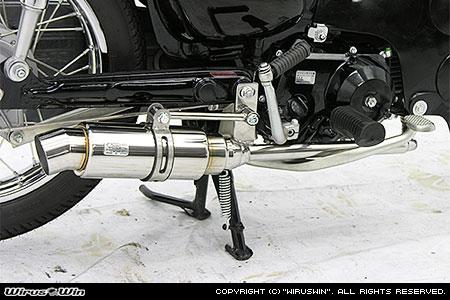 WirusWin カブ50(JBH-AA01) ロイヤルマフラー スポーツタイプ /ウイルズウィン