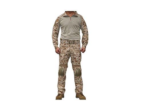 迷彩服 AOR1 サバゲー EMERSON 上下セット 装備 コスプレ サバイバルゲーム 迷彩 戦闘服 ジャケット パンツ S ショッピング M D410P06Aug16 XXL NAVY エマーソン ブランド買うならブランドオフ EMERSON製 コンバット迷彩服 SEALs採用タイプ迷彩柄 コンバット XL ミリタリー 送料無料 L CRYEタイプ