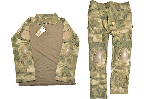 【送料無料】EMERSON製 CRYEタイプ G2 コンバット迷彩服 上下セット 戦闘服 ATFG迷彩柄 D410P06Aug16