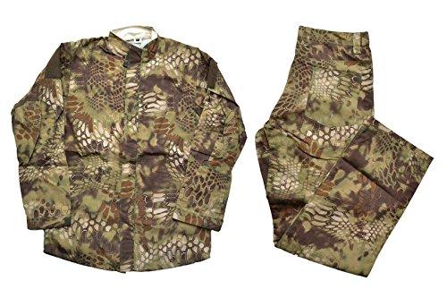 【送料無料】CANIS LATRAN製 ハイランダー Highlander 迷彩 HLD迷彩 迷彩服 上下セット 戦闘服