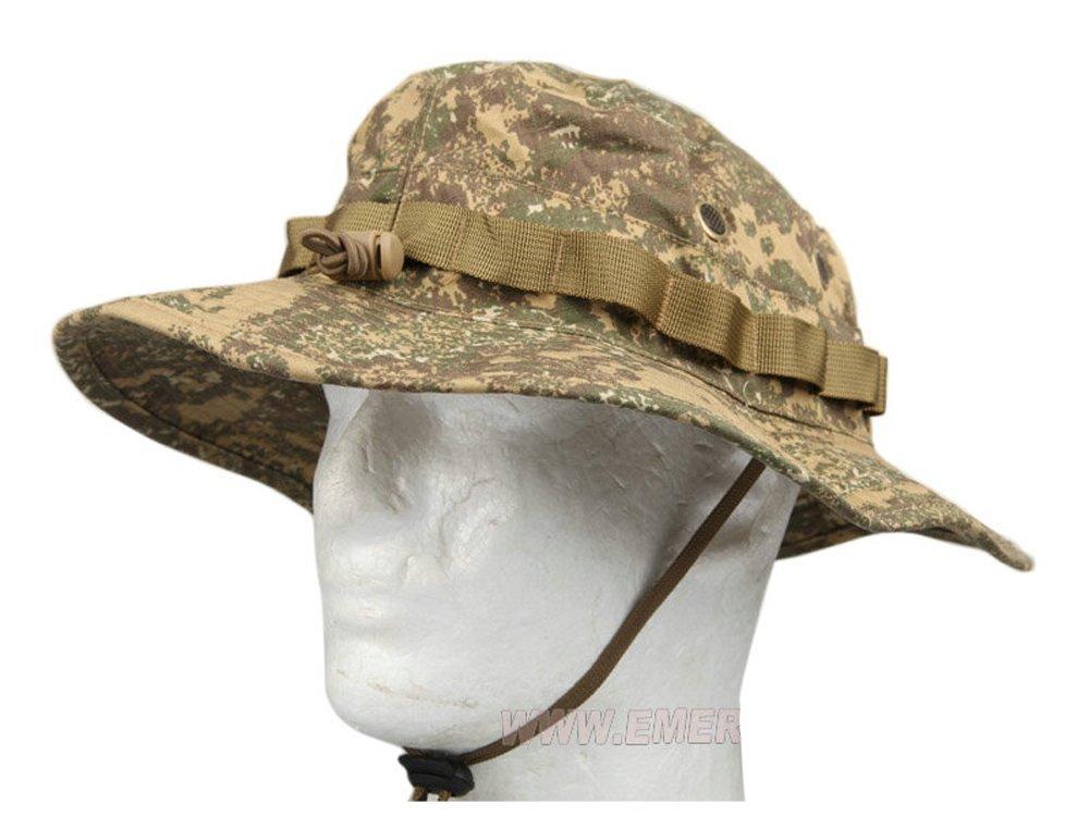 ブーニーハット バッドランド 帽子 EMERSON 大注目 サバゲー ミリタリー 装備 サバイバルゲーム EMERSON製 在庫あり バッドランドタイプ迷彩 ジャングルハット D410P06Aug16 エマーソン コスプレ 迷彩 送料無料