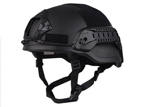 【送料無料】EMERSON製 MICH2002タイプ ヘルメット スペシャルアクションVer ブラック 黒色 D410P06Aug16