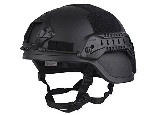 【送料無料】EMERSON製 MICH2000タイプ ヘルメット スペシャルアクションVer ブラック 黒色 D410P06Aug16