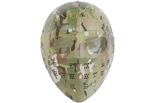 【送料無料】ジェイソンマスク マルチカモ MC 迷彩柄 防護ゴーグル フルフェイスマスク Skull-Line