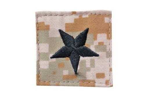 ワッペン ベルクロ サバゲー パッチ 使い勝手の良い サバイバルゲーム 装備 ミリタリー ミリパチ 送料無料 デジタルデザート 徽章 D410P06Aug16 ピクセルブラウン 准将 ベルクロ付き 一部予約 アメリカ陸軍 階級章