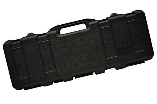 ガンケース ブラック 2020春夏新作 サバゲー コスプレ サバイバルゲーム 装備 迷彩 ミリタリー ケース ライフルケース 送料無料 D410P06Aug16 買収 ハードガンケース 96cm 電動ガンケース 黒 ハードケース 高強度