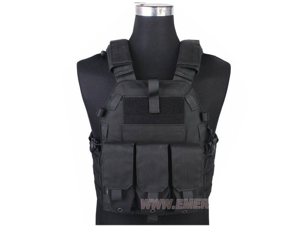【送料無料】EMERSON製 094K M4ポーチタイプ タクティカルベスト プレートキャリア ブラック 黒色 D410P06Aug16