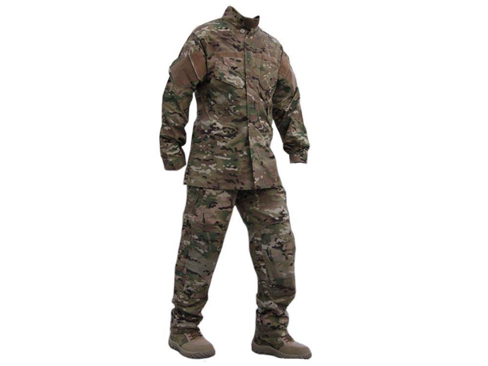 【送料無料】EMERSON製 ACU R6タイプ 迷彩服 戦闘服 上下セット MultiCam マルチカモ迷彩