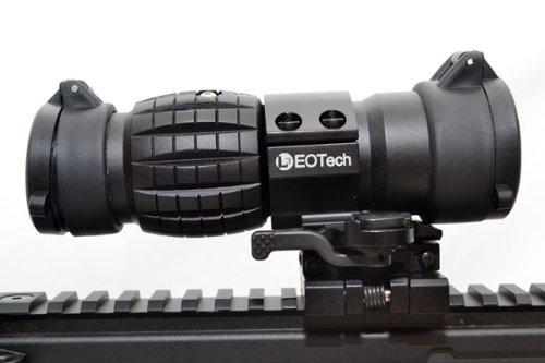 【送料無料】EoTech タイプ 3倍 Magnifire 倍率ブースター レプリカ マグニファイヤー ブラック
