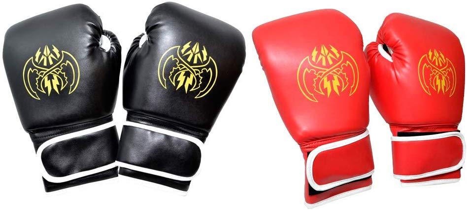 グローブ ボクシンググローブ 時間指定不可 セット スパーリンググローブ 練習用グローブ 半額 赤1個 2個セット 送料無料 格闘技 黒1個