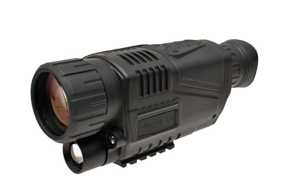 【送料無料】Canis Latrans製 単眼式 デジタルナイトビジョン NVG 暗視ゴーグル 撮影機能付き CL27-0012 黒
