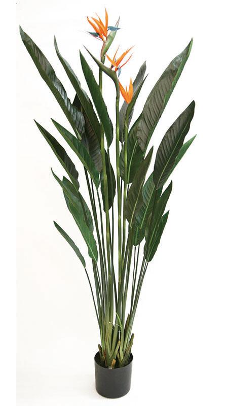 【ストレリチア・極楽鳥花・人工植物・造花】送料無料 フェイクグリーン ストレチア1600
