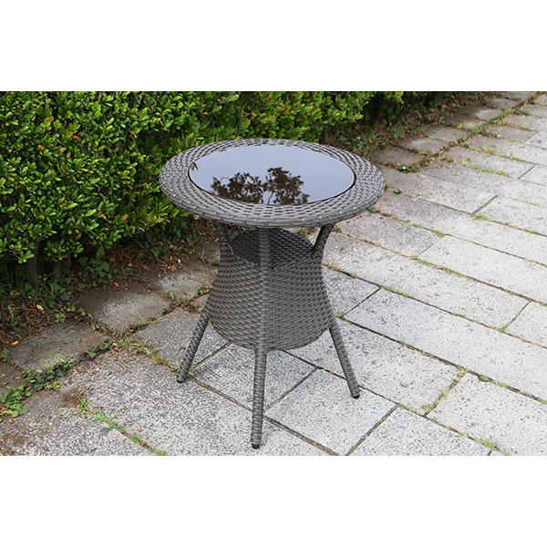 【ガーデンテーブル・屋外家具】ラタン テーブル60