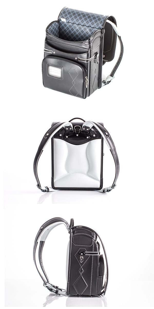 便利雑貨 メンズ ふわりぃ シールドモデル ランドセル 2016年度モデル 男児用 03-04160 ブラック/スーパーブラック コンビ