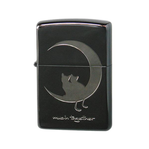 生活関連グッズ メンズ ジッポ ZIPPO CAT in LOVE メンズ ライター 喫煙具 2CAT-BNB ブラック