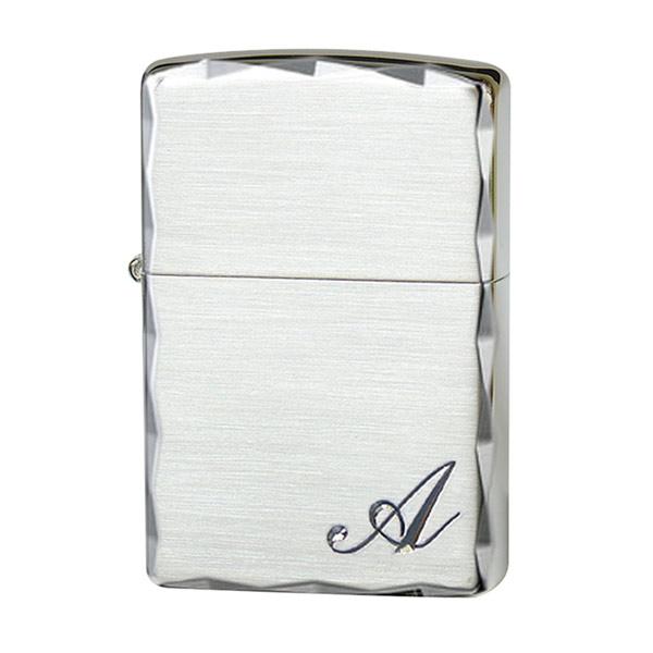 便利雑貨 ユニセックス ジッポ ZIPPO イニシャル 喫煙具 ライター ユニセックス 2ICC-A シルバー