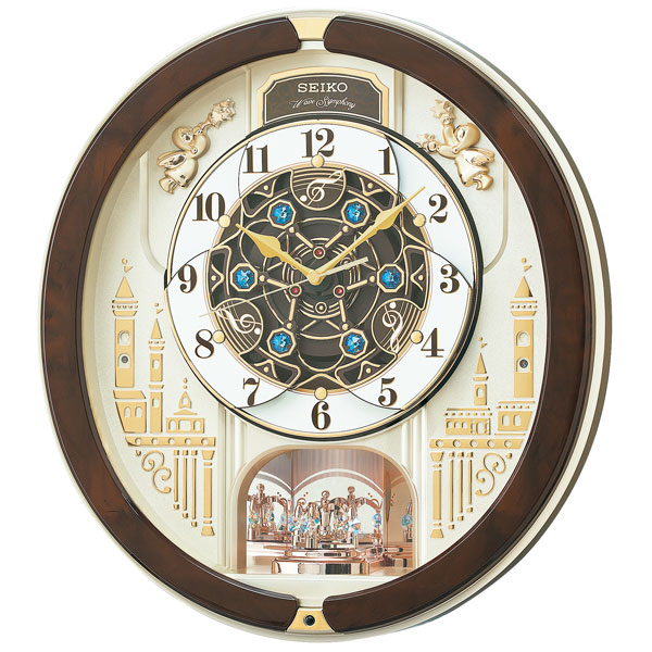 便利雑貨 ユニセックス セイコー SEIKO ユニセックス 掛け時計 RE579B ゴールドパール