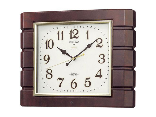 便利雑貨 セイコー SEIKO 報時 電波時計 掛け時計 RX209B