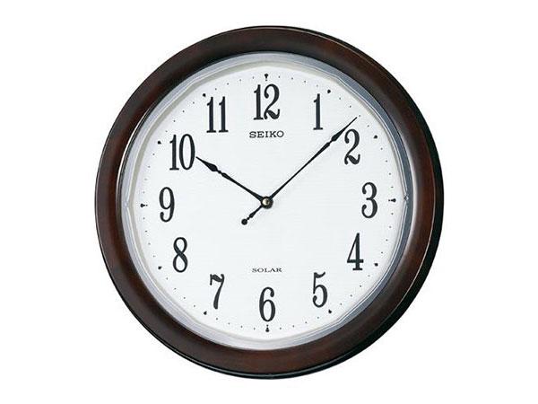 セイコー SEIKO 電波時計 ソーラープラス 掛け時計 SF504B