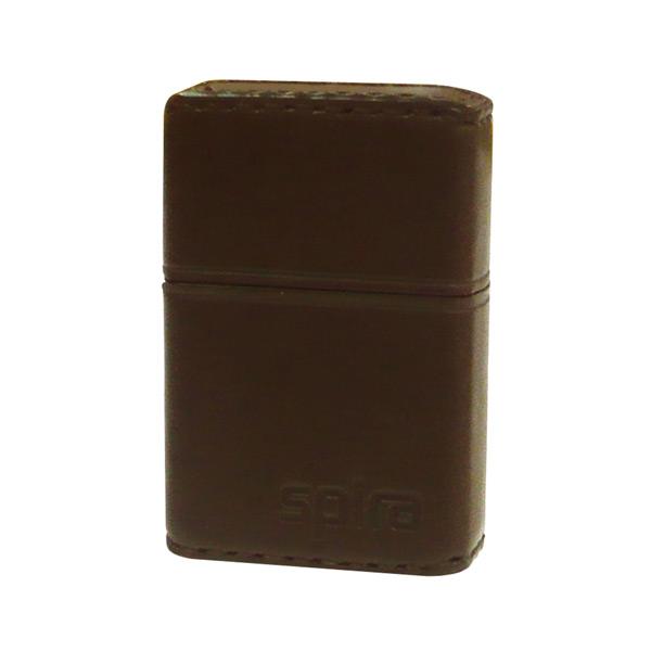 お役立ちグッズ メンズ スパイラ SPIRA バッテリーライター アーマー革巻き メンズ SPIRA-602BW ブラウン