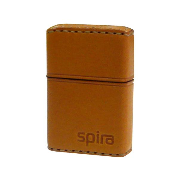 お役立ちグッズ メンズ スパイラ SPIRA バッテリーライター 革巻き メンズ SPIRA-603LB ライトブラウン