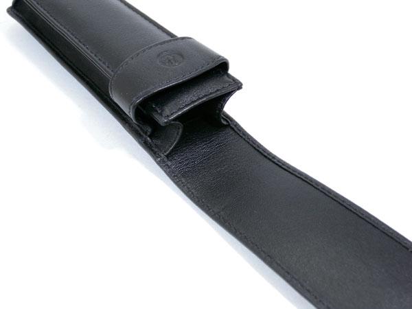 便利雑貨 ペリカン PELIKAN 2本用 ペンケース TG-21 ブラック