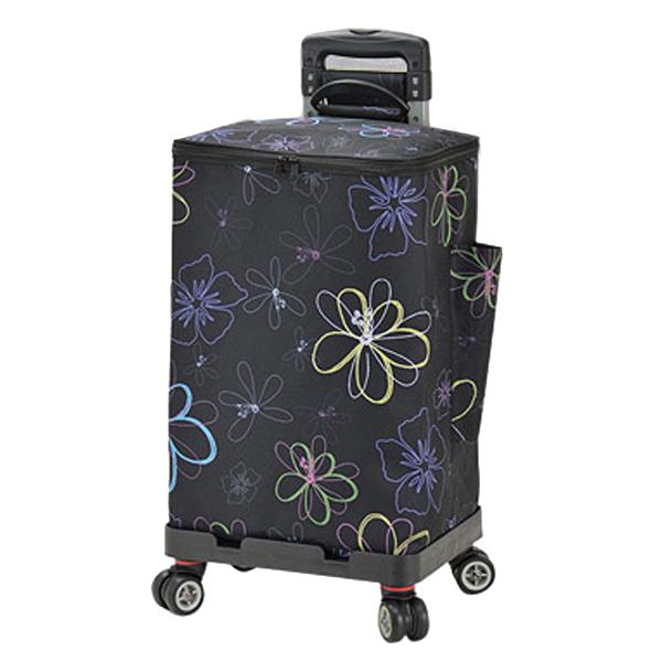 生活関連グッズ ユニセックス ヴァレンチノヴィスカーニ VALENTINO VISCANI ショッピングバッグ 15181-15 ブラック/花柄