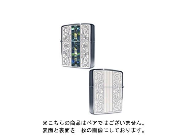 便利雑貨 ジッポ ZIPPO ライター 貝貼り クラシック 162KB-CLSP