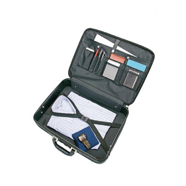 便利雑貨 メンズ ウェリントン WELLINGTON ソフトアタッシュケース メンズ 21219 ブラック