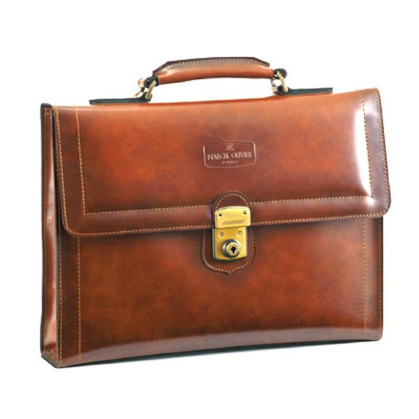 便利雑貨 メンズ マルセルオリビエ シャドー メンズ ビジネスバッグ 23251 チョコ 国内正規