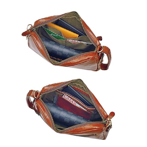 便利雑貨 メンズ ブレザークラブ BLAZERCLUB セカンドポーチ メンズ 25782 チョコ 国内正規