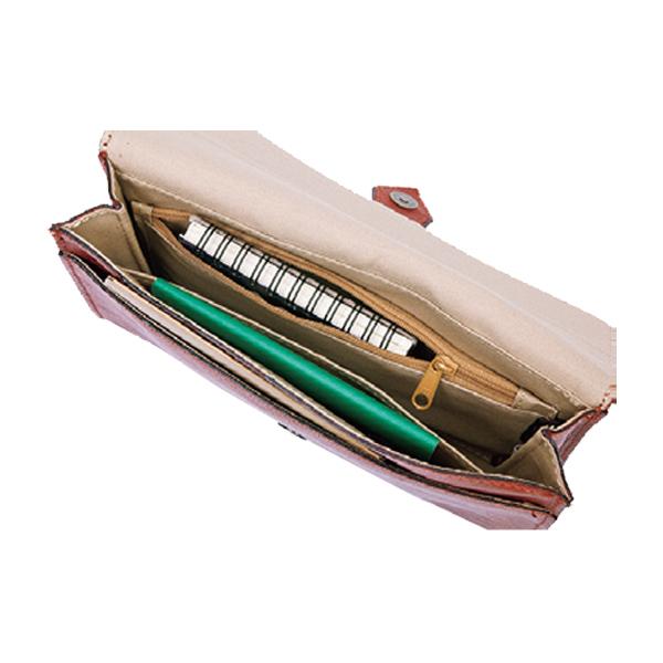 便利雑貨 メンズ ブレザークラブ BLAZERCLUB クラッチバッグ メンズ 25850 カーキ 国内正規