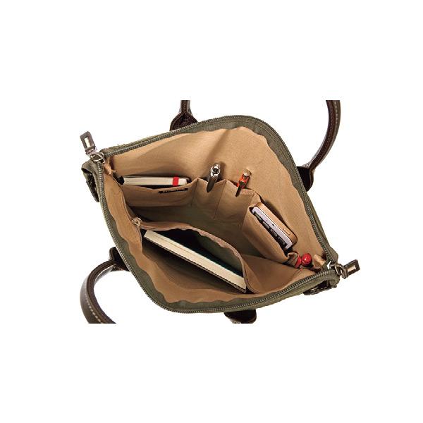 便利雑貨 メンズ ブロンプトン トートバッグ ハンドバッグ メンズ 26551 カーキ 国内正規