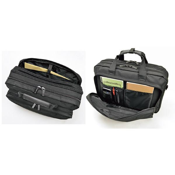 便利雑貨 メンズ ジャーメインギア マイクロファイバー ビジネスバッグ メンズ 26567 ブラック