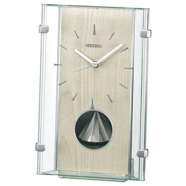 便利雑貨 セイコー SEIKO スタンダード 置き時計 BY240M ベージュ