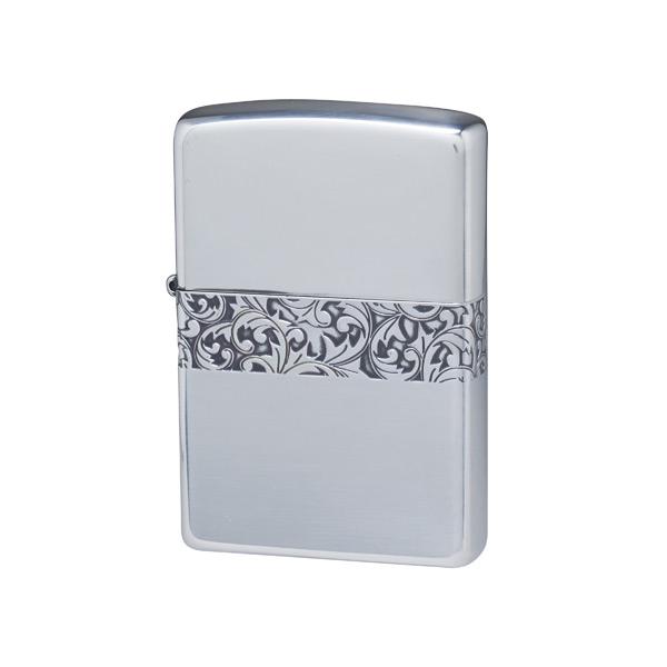 便利雑貨 メンズ ジッポ ZIPPO オイルライター クラシックアラベスク メンズ CLA-F シルバー