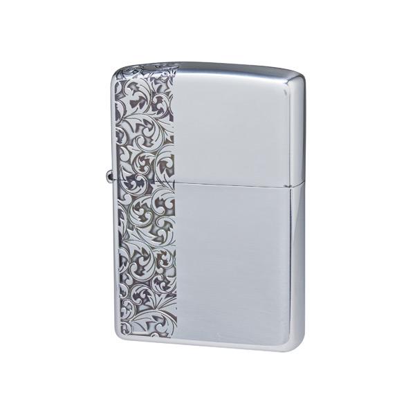 便利雑貨 メンズ ジッポ ZIPPO オイルライター クラシックアラベスク メンズ CLA-H シルバー