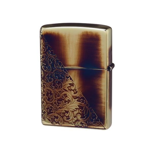 便利雑貨 メンズ ジッポ ZIPPO オイルライター クラシックアラベスク メンズ CLA-I ゴールド