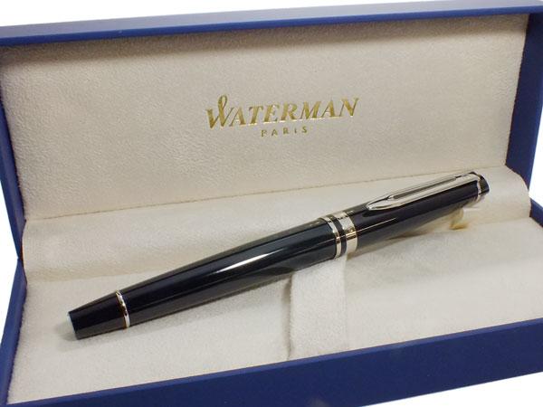 便利雑貨 ウォーターマン WATERMAN エキスパート 万年筆 エッセンシャルブラックCT M(中字)