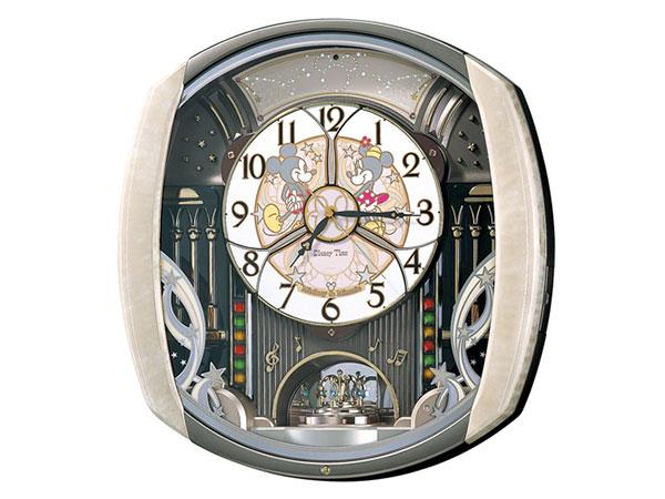 便利雑貨 セイコー SEIKO キャラクタークロック からくり時計 電波時計 掛け時計 FW563A