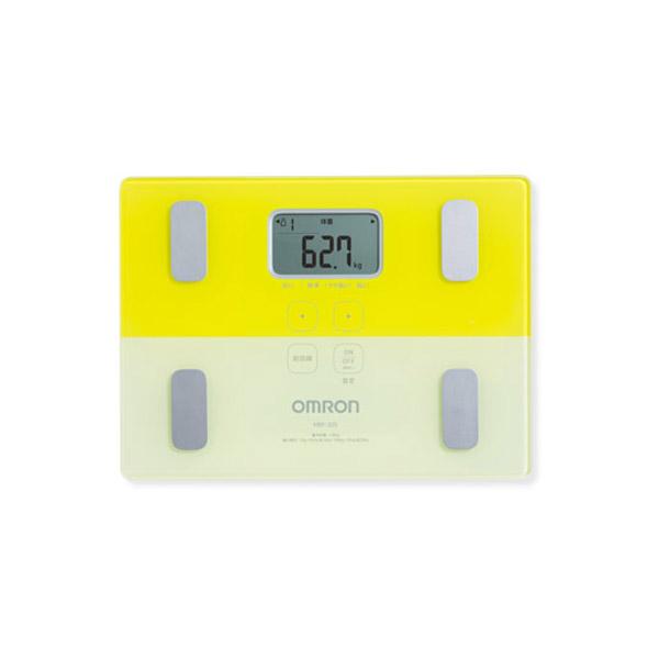 生活用品 オムロン OMRON 体組成計 体重計 カラダスキャン HBF225-Y 4975479414893 イエロー